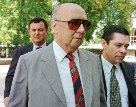Carlos Suárez Mason, ex comandante del ejército argentino. Jefe de Jorge Olivera.