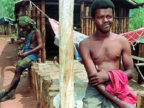 Un grupo de esclavos en el Matto Grosso. | Roberto Jayme