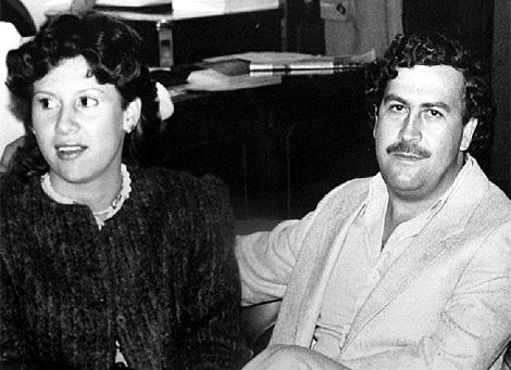 El capo colombiano, junto a la que fuera su mujer. | EL MUNDO