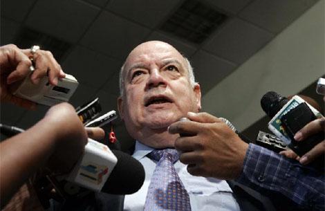 El secretario General de la OEA, José Miguel Insulza.|O. Barría