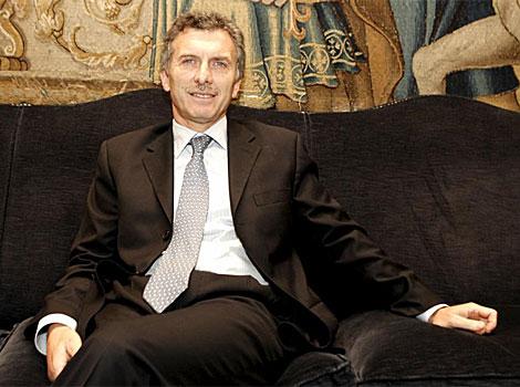 El alcalde de Buenos Aires, Mauricio Macri, es el principal opositor de Cristina Fernández.|Efe