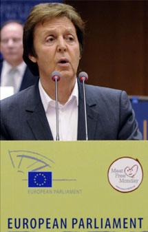 Sir Paul McCartney. |AP
