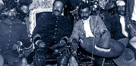 Pancho Villa es el segundo por la izquierda. | Archivo