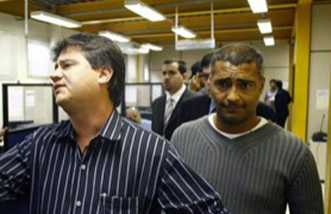 Romario sale de prisión el 15 de julio por no pagar la pensión alimenticia a sus hijo. | Efe