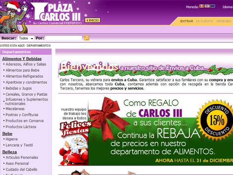 Imagen de la página web. | ELMUNDO.es