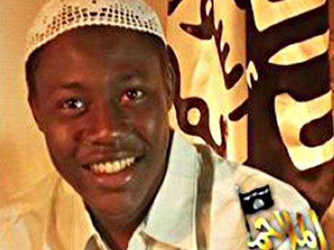 Una foto del sospechoso difundida por Al Qaeda. | Intelcenter