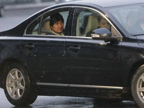 El mandatario boliviano llega a la cumbre del clima, en Copenhaguen, el mes pasado.   Reuters