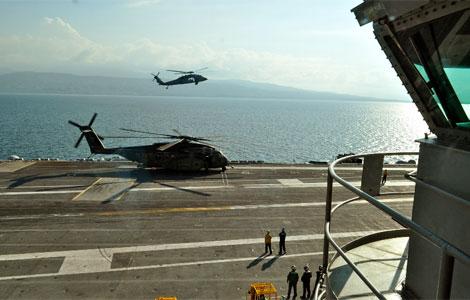 El portaviones USS Carl Vinson. | Ruí Ferreira