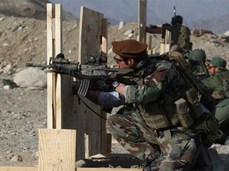 Un militar de las fuerzas de EEUU en la provincia de Kapisa. | AFP