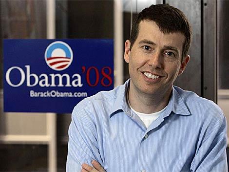 David Plouffe, ex jefe de campaña de Obama en las presidenciales de 2008. AP