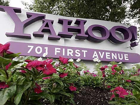 El logo de Yahoo! en su sede de Sunnyvale, California. | AP