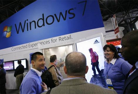 Windows 7 es el más vendido en la historia del sistema operativo.  AP