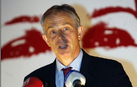 Tony Blair. | Afp