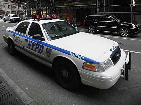 Un vehículo policial de Nueva York. | AP
