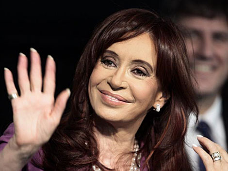 La presidenta argentina Cristina Fernández de Kirchner. | Efe