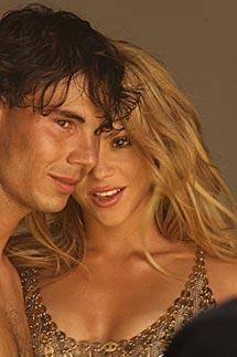 Nadal y Shakira en 'Gypsy'.