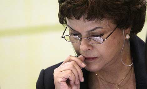 Dilma Rousseff en una imagen reciente. | Reuters