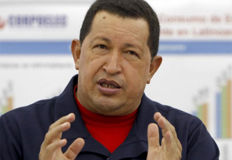 El presidente Hugo Chávez.   Reuters