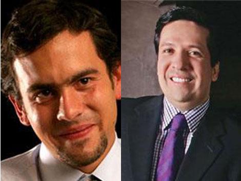 Rodrigo Lara Restrepo y Rodrigo Lara Sánchez. |La Nación