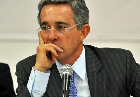 El presidente de Colombia, Álvaro Uribe.| AFP