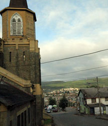 Iglesia San Matías Apóstol en Lota. | J.B.