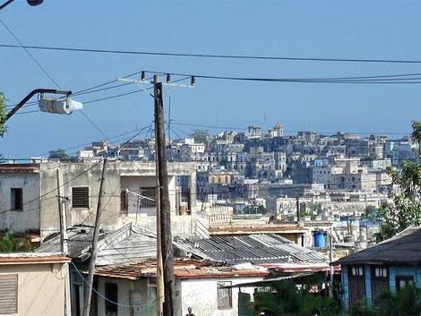 La Víbora, populosa barriada habanera.