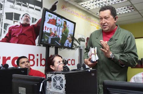 Hugo Chávez quiere ser un activista cibernético del siglo XXI. | Reuters