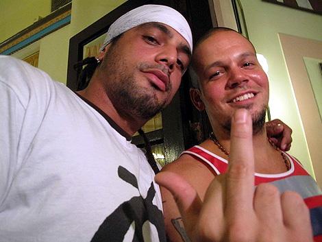 Miembros de Calle 13.