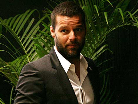 Ricky Martin en febrero de 2010. Efe