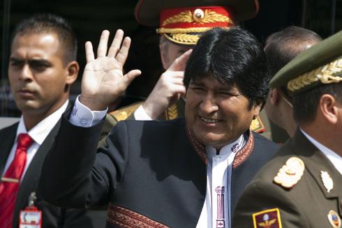 Evo Morales, en un acto reciente. | Reuters