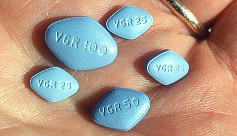 Varias píldoras de Viagra. | EPA