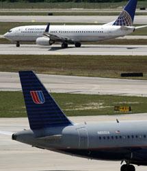 Aviones de las aerolíneas fusionadas. | Ap