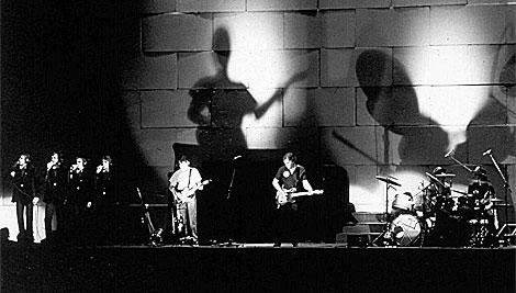 Concierto 'The Wall' ofrecido por Pink Floyd en su gira de 1981. | Archivo