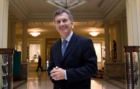 El alcalde de Buenos Aires, Mauricio Macri. | ELMUNDO.es