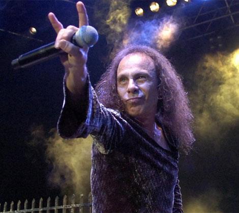 Ronnie James Dio, leyenda del 'heavy metal'. | AP