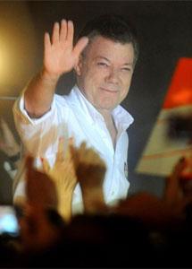 Santos tras conocer los resultados. | Afp