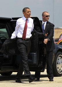 Obama rumbo a Luisiana. | Reuters