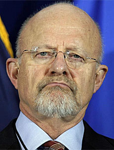 El general James Clapper.