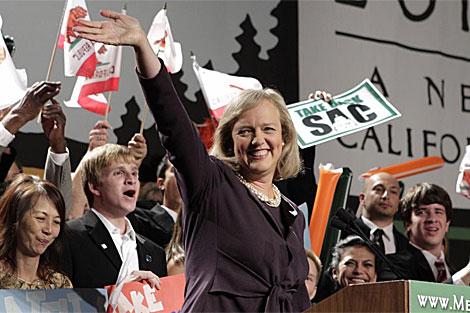 La canidata republicana Meg Whitman. | AP