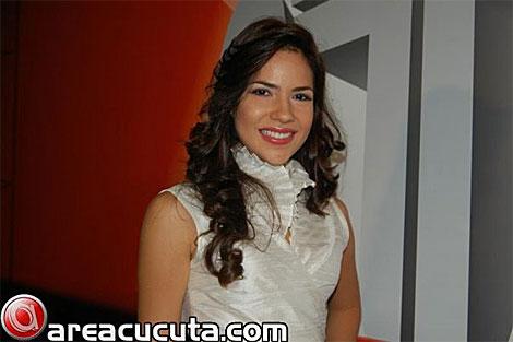 María Fernanda Nuñez, señorita Cúcuta.