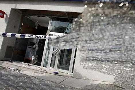 Imagen del edificio donde se ha producido la explosión. | Publimetro