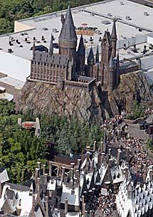 El Castillo de Hogwarts. | AP