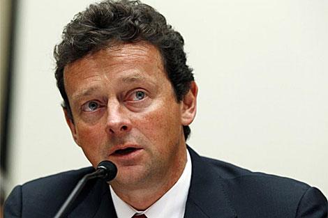 El consejero delegado de BP, Tony Hayward.   Reuters