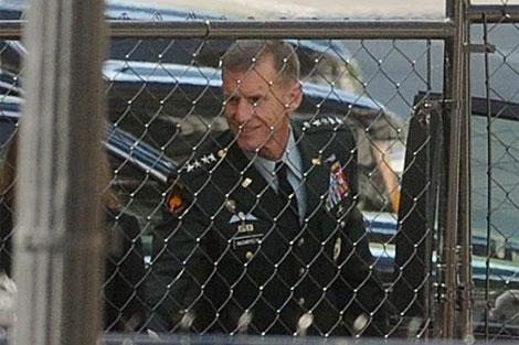 El jefe de las tropas de Estados Unidos llega a la Casa Blanca. | Efe