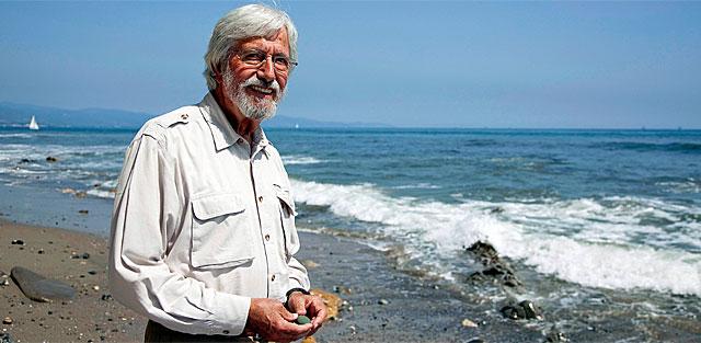 Jean-Michel Cousteau, hijo del mítico explorador submarino.   I.H.