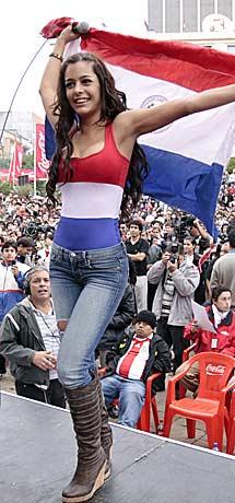 La musa de Paraguay. | Reuters