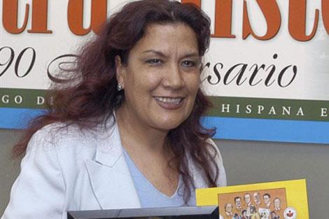 La periodista Vicky Peláez en foto de archivo. | Efe