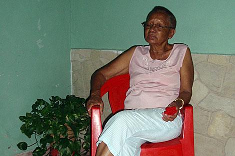 La madre de Guillermo Fariñas. | Anna Giralt
