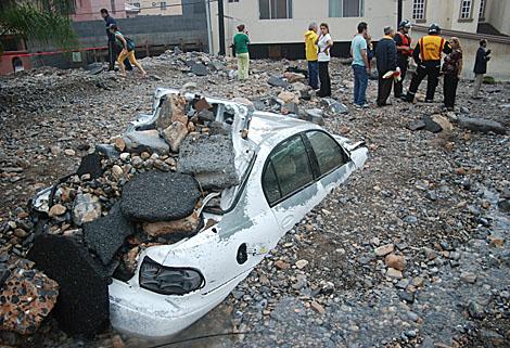 El paso de 'Alx' ha dejado un rstaro de devastación en ciudades como Monterrey, en Nuevo León.