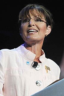 Sarah Palin. | AP